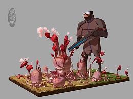 【原创】《为战而生》(Battleborn )场景物件设计