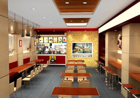 凉州饭店装修设计,上海餐饮店装修设计公司,餐饮店店面标志设计,西北