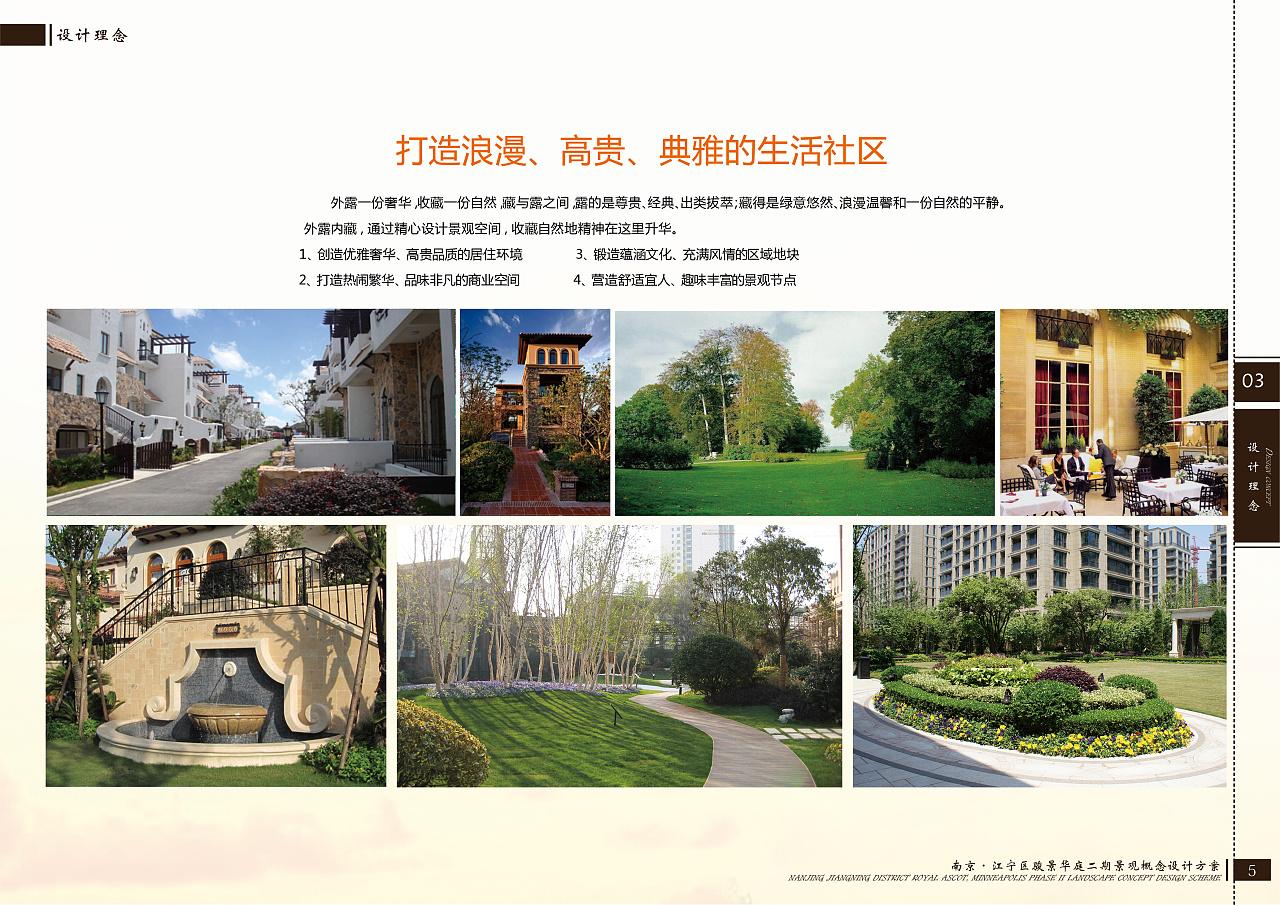 园林景观设计top6(南京·江宁区骏景华庭二期景观概念图片
