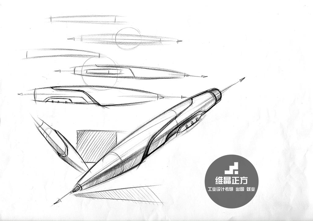 工业设计手绘线稿图|工业/产品|电子产品|维晶正方