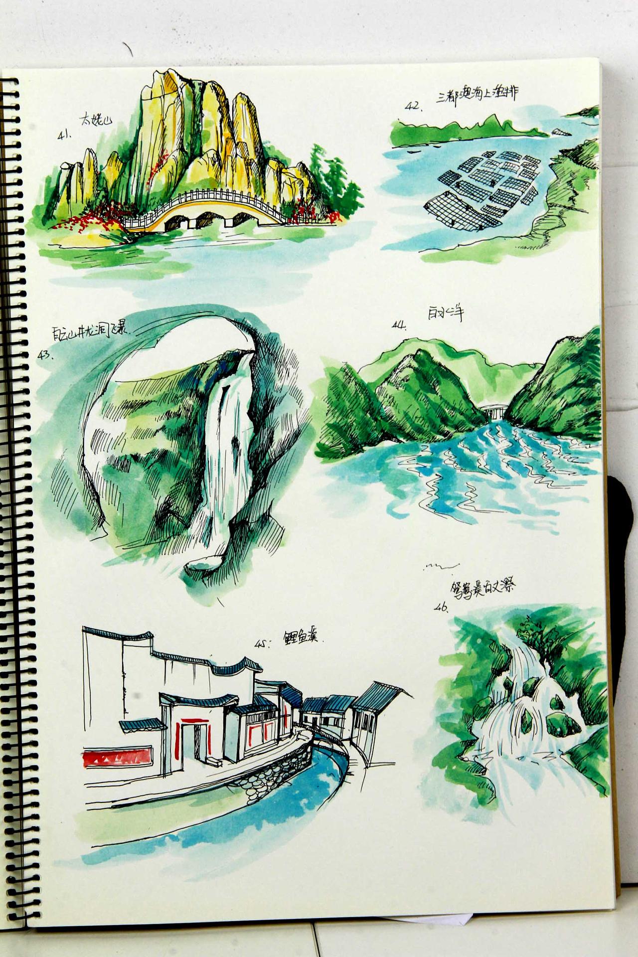 福建省内高铁旅游手绘地图创作绘制|纯艺术|水彩|jack