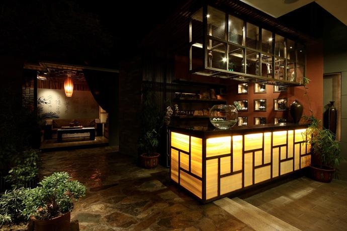 柳州茶楼装修设计公司《紫茶园茶楼设计》|室内设计