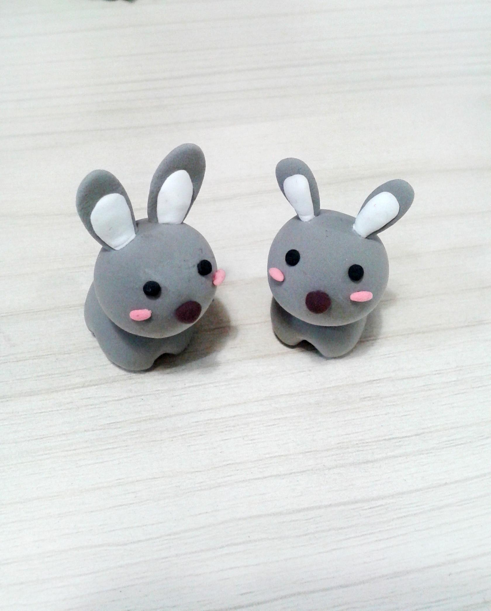 软陶系列之小动物|手工艺|手办/原型|chiajingjing