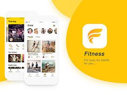 Fitness-健身app设计概念