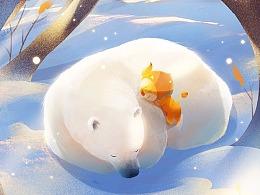 节气插画-立冬