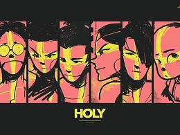 LINLIN DESIGN-HOLY ONE