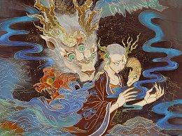 中国神话人物——《九歌·山鬼》