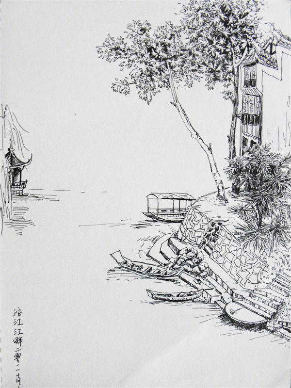国画 简笔画 手绘 素描 线稿 600_800 竖版 竖屏