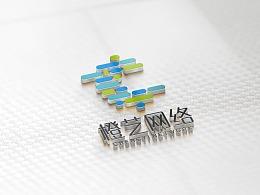 网络类logo设计/橙艺网络