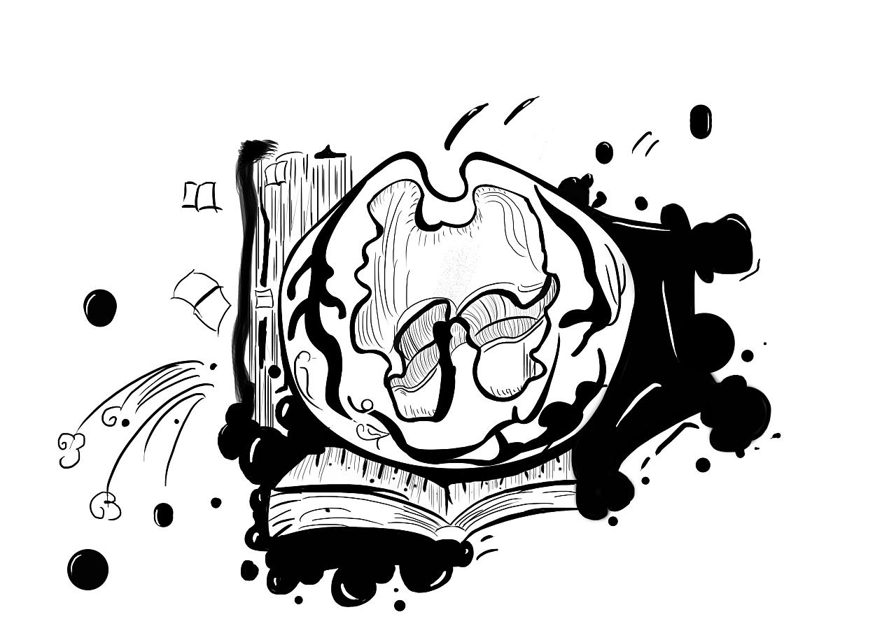 五张关于书籍的创意联想.图片