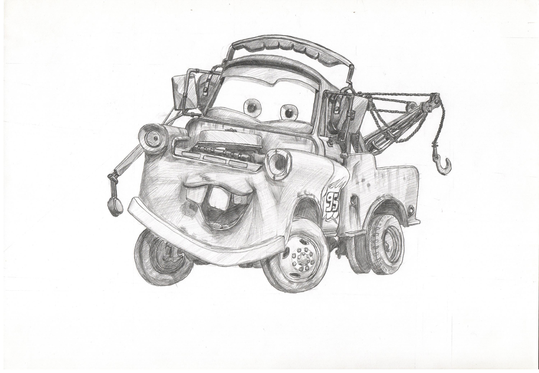 汽车-手绘