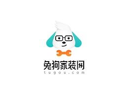 新版兔狗家装网logo
