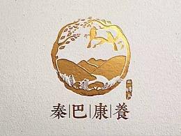 秦巴康养LOGO设计——金与彥设计