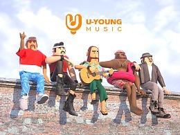 U-YOUNG MUSIC品牌+IP设计
