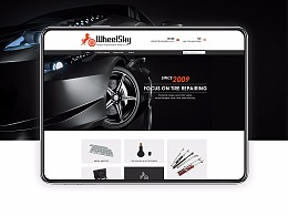 || 首页设计 || 汽车零附件 Home页 Alibaba国际站旺铺