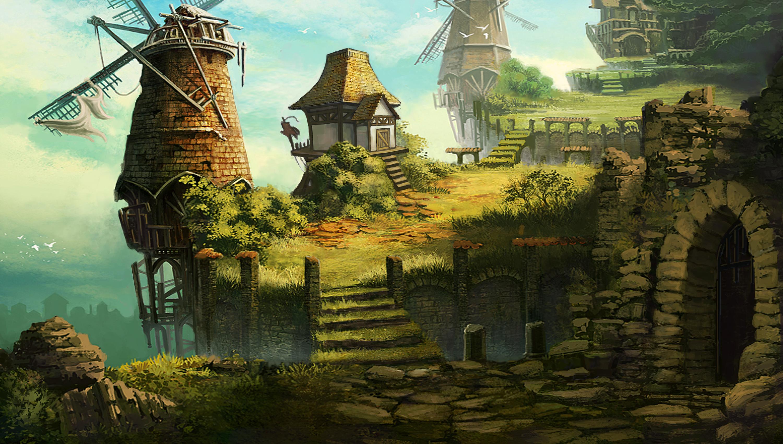 中国网络电视_游戏场景概念设定《中世纪与中国风系列》#动漫作品# 动漫 其他 ...