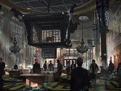 """电影《动物世界》概念设计图-""""命运号""""赌船大厅"""