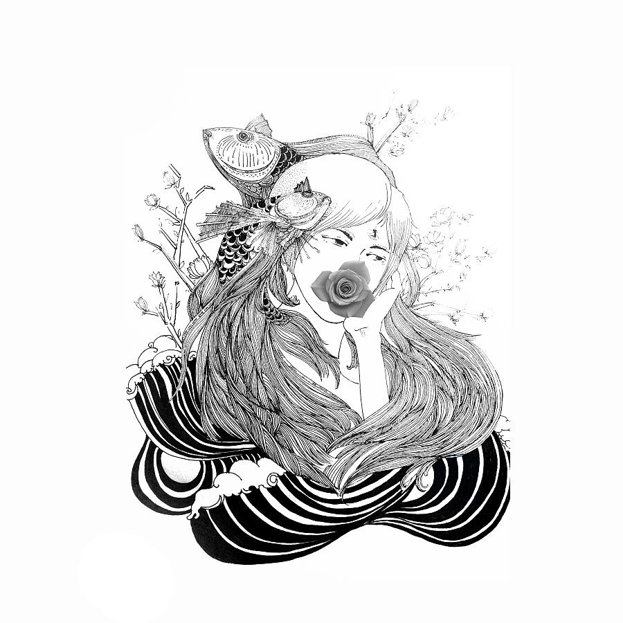 原创作品:手绘插画
