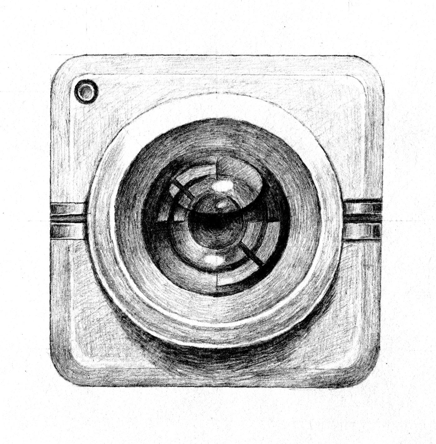 手绘:相机图标