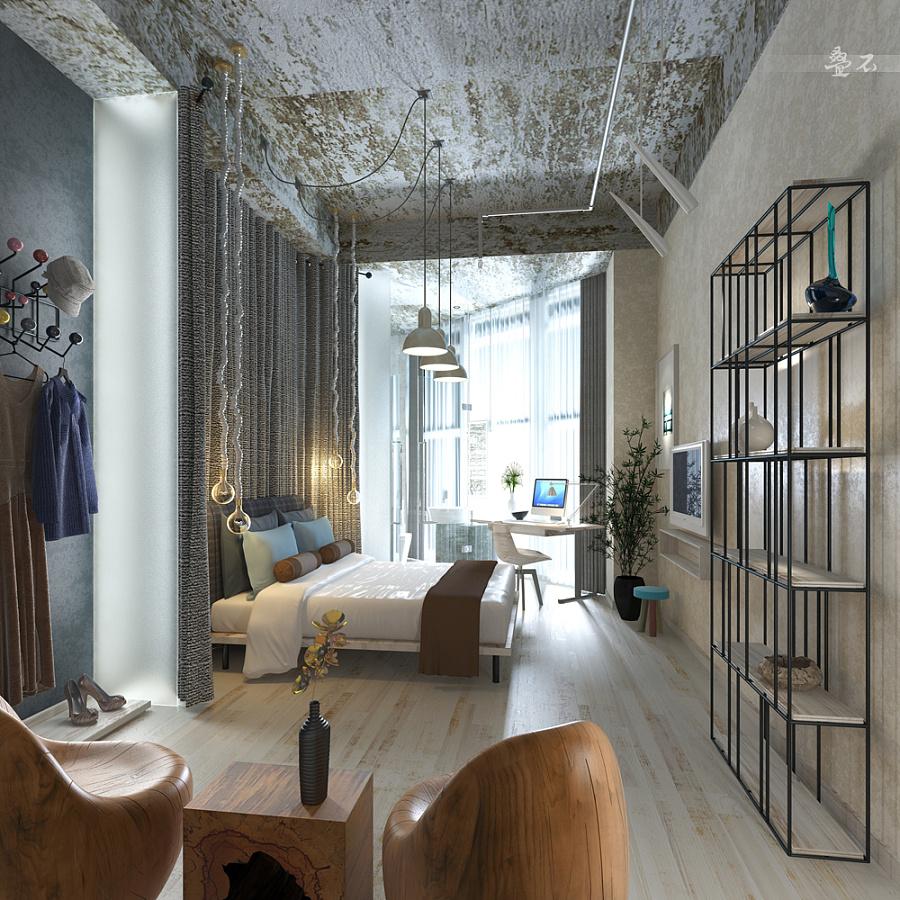 【异形小空间】室内效果图|室内设计|空间/建筑|zq叠
