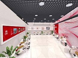 嘉陵/力帆电动车品牌展厅设计