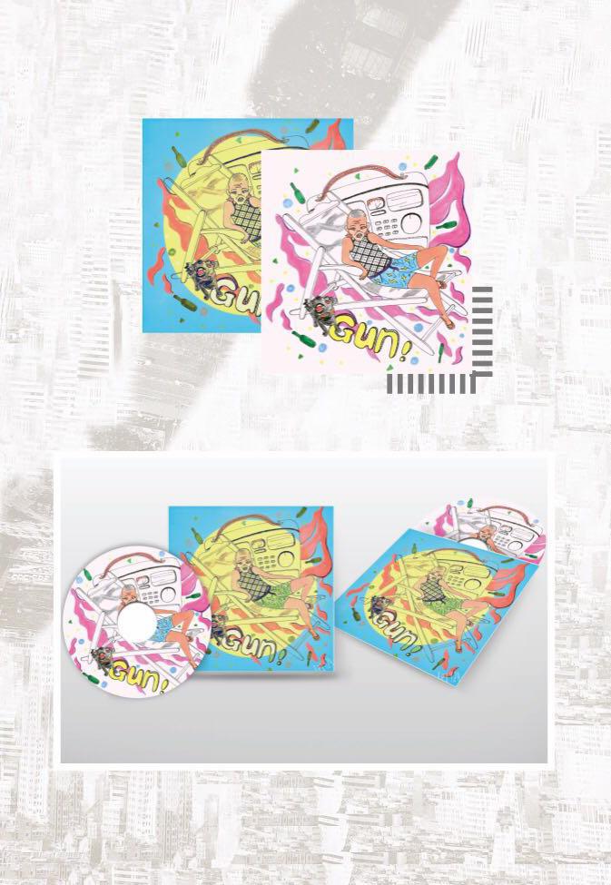 音乐专辑封面,手绘 设计