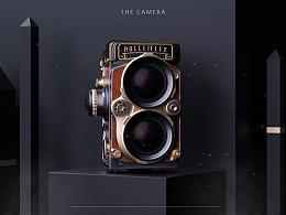 Octane Render复古相机