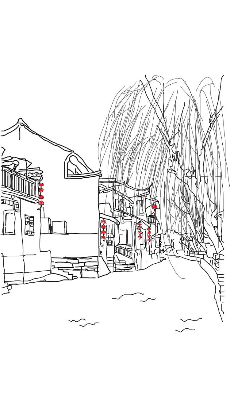 用AE的蒙版拓展制作古风建筑视频