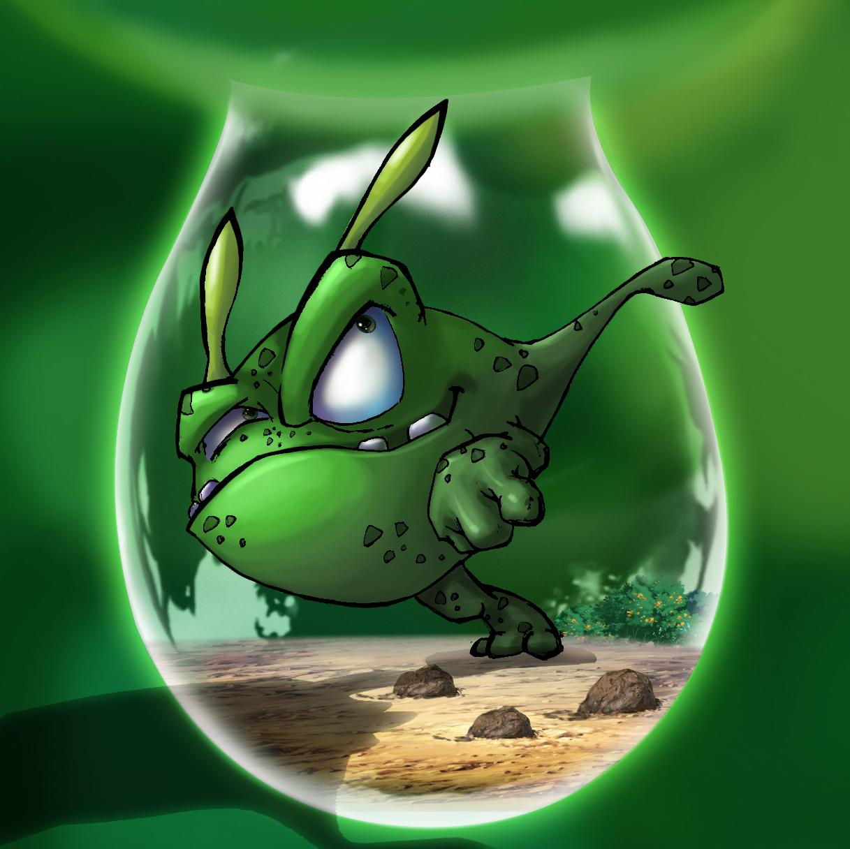 《诺诺森林》里的可爱的奇卡龙图片
