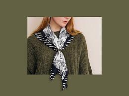 艺术丝巾——ICY设计师平台合作项目