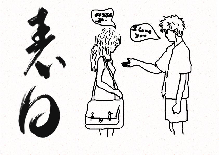 简笔画 手绘 书法 书法作品