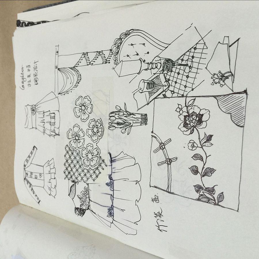 平时的一些手绘,黑白线稿|图形/图案|平面|cuiyuting