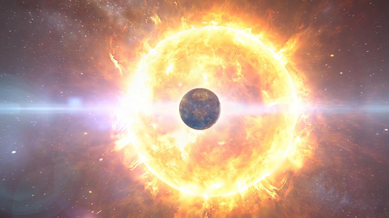 个人cg作品《太阳系旅行》先上截图 后上视频链接