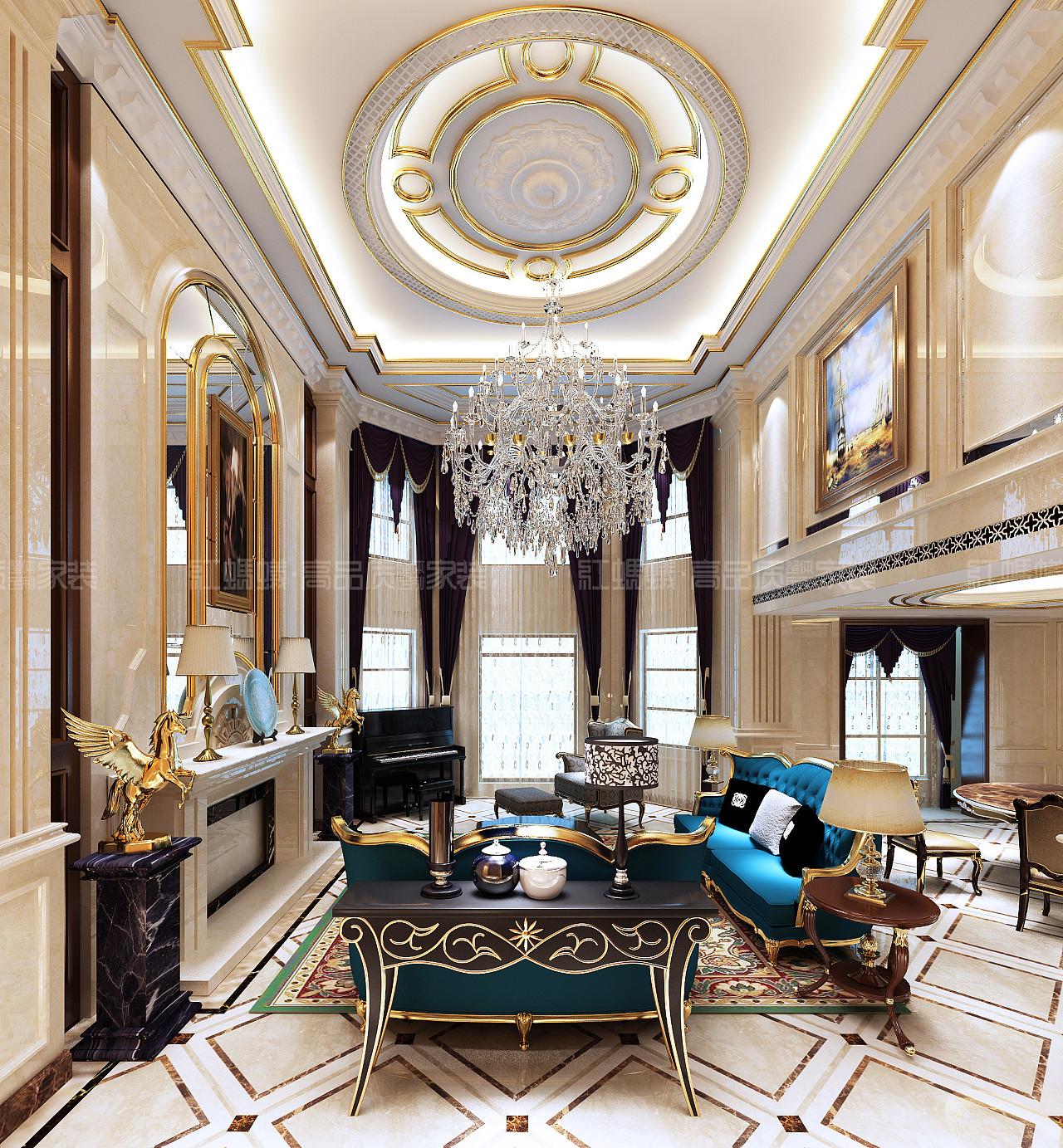 美式新古典主义风格自由粗犷,成就了欧式新古典多元化的风格.图片