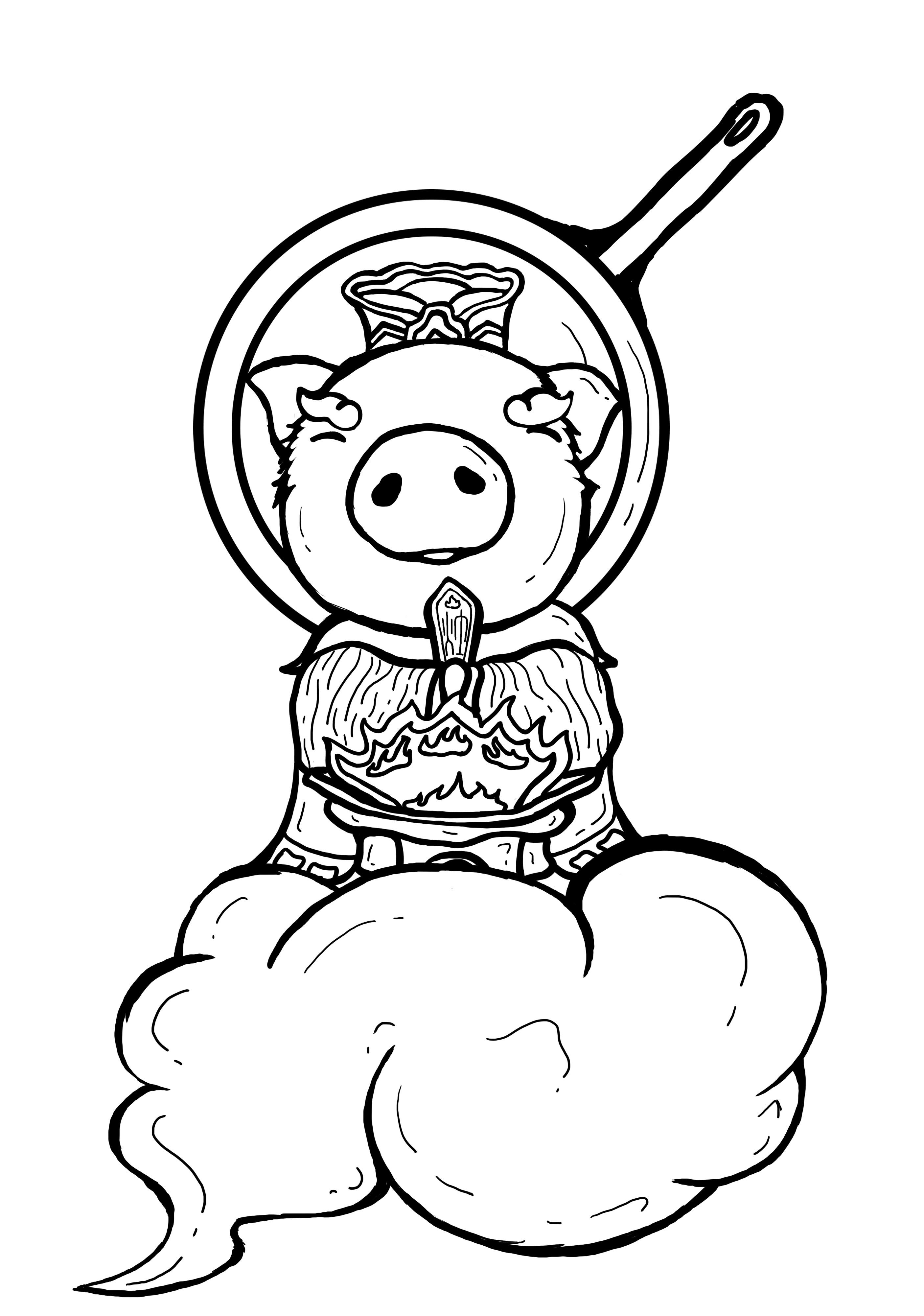 猪年七天图+初七开工图图片