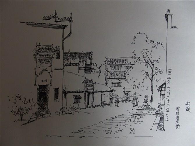 线稿与手绘板练习|绘画习作|插画|高霞霞