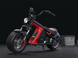哈雷电动摩托车