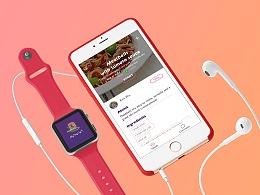Banquet食谱app视觉动效展示