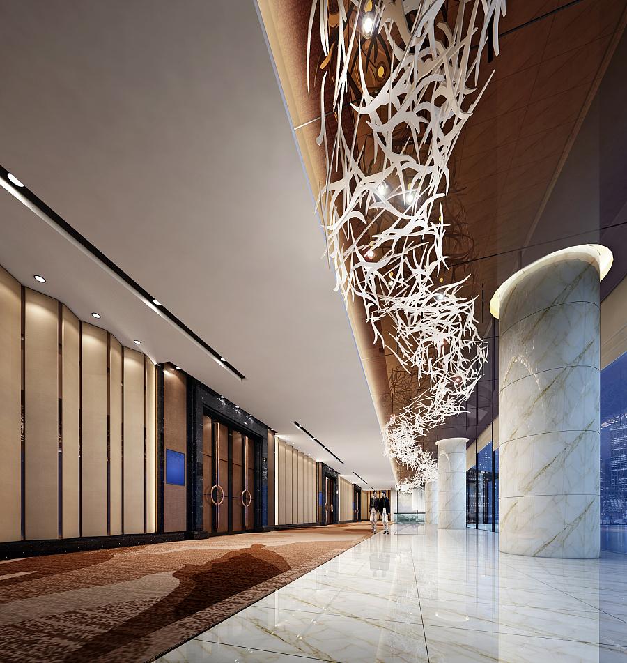 铂尔曼酒店设计 建筑设计 空间/建筑 青木壹品设计