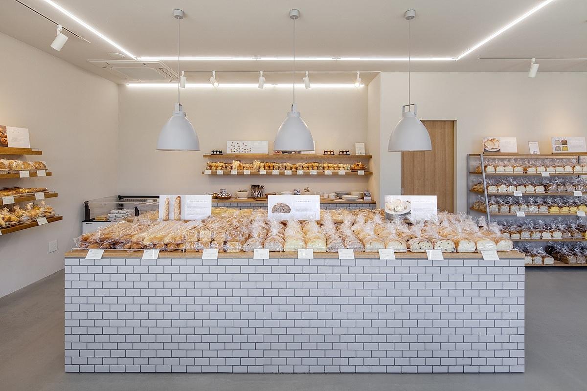 成都面包烘培店装修设计《妙香面包店》图片