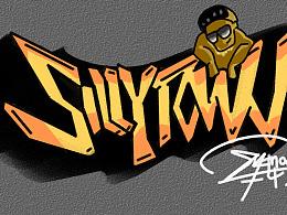 【涂鸦】SILLY  TOWN