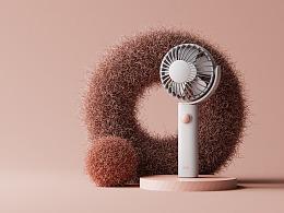 【FELLY FAN】夏日小风扇设计