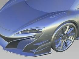 McLaren-675LT-MSO  Alias 建模作品