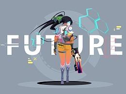 插画_未来