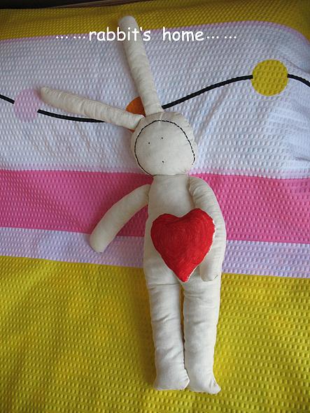 布艺娃娃diy_手工娃娃 diy 布艺制作 安东尼不二 兔子 布娃娃|其他|其他|不下雪 ...