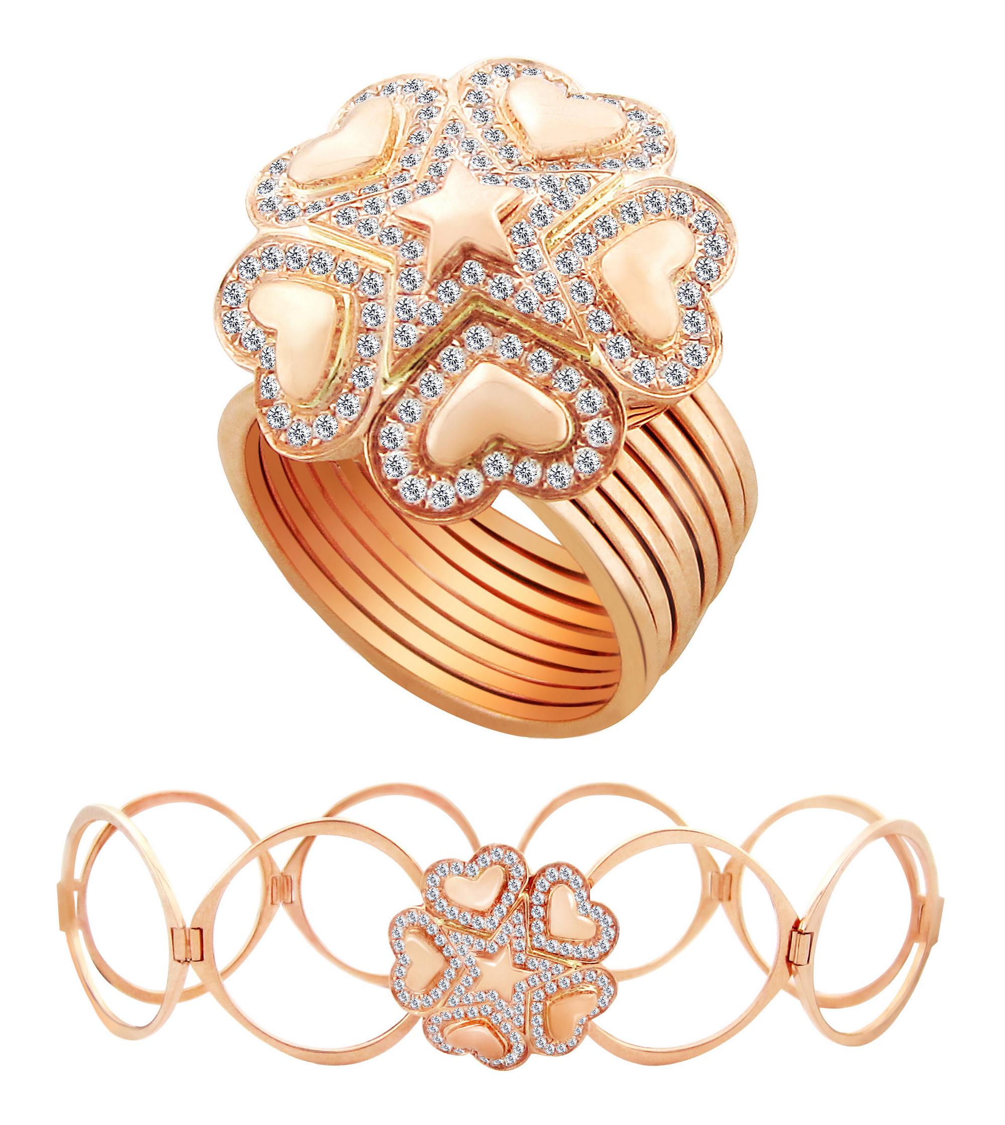 珠宝 首饰 修图 彩钻 宝石 克拉钻 彩金 项链 戒指 耳环 耳钉 吊坠