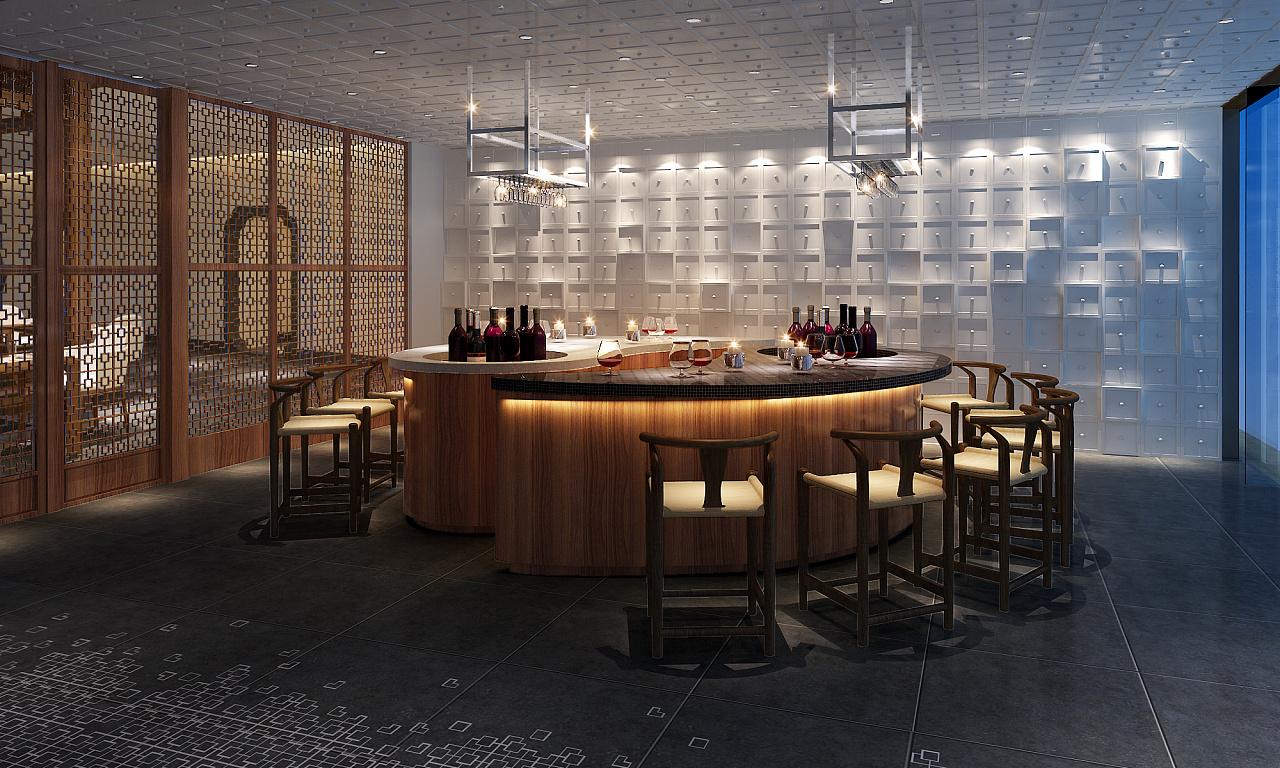 巴哈马中餐厅室内设计学院好的室内设计方案去进修图片
