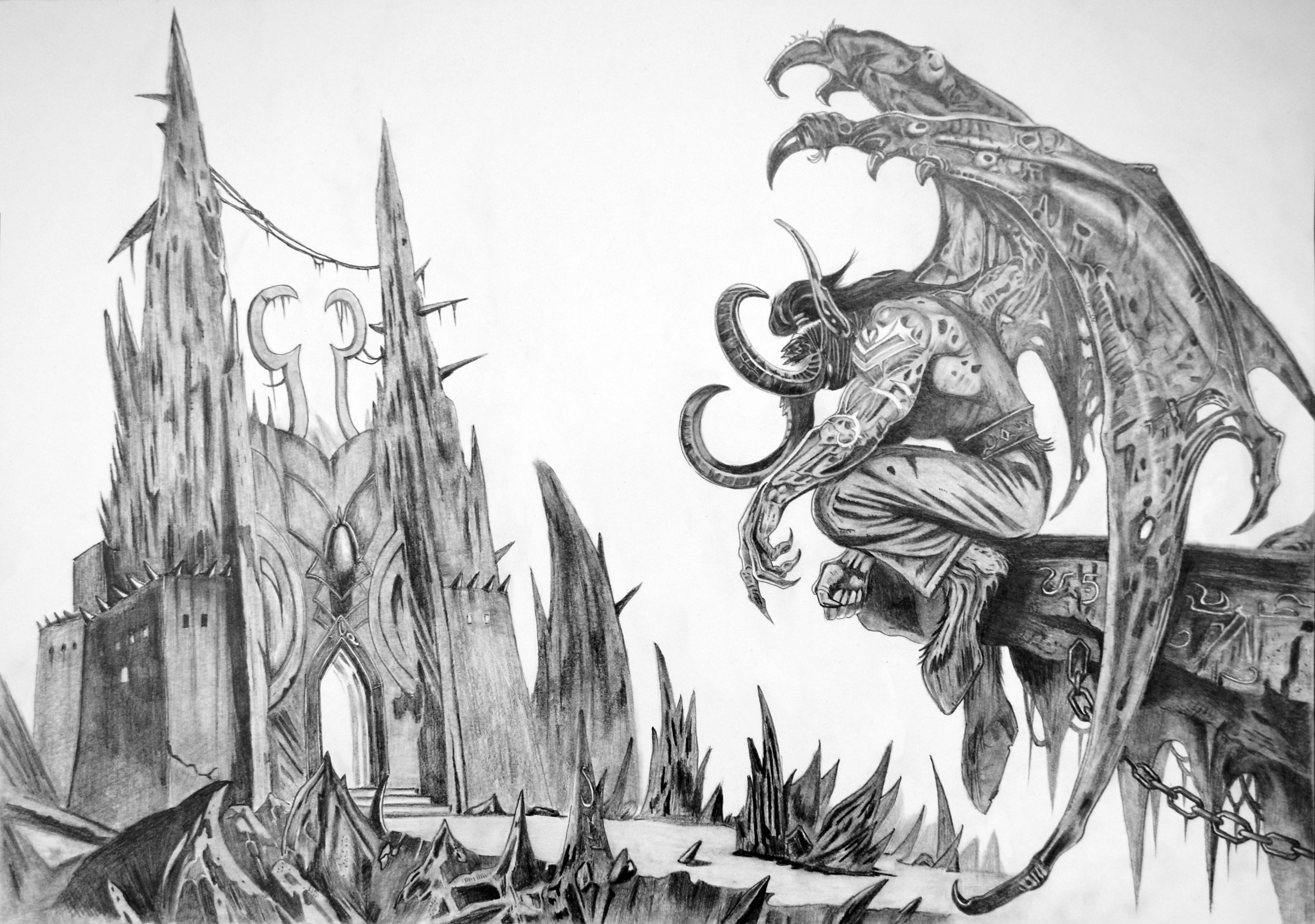 《魔兽世界》——伊利丹·怒风