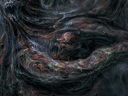 一些怪物  - 《Deepmadness》 插画,第三部