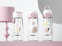 【母婴用品】中童杯北欧风格详情渲染设计